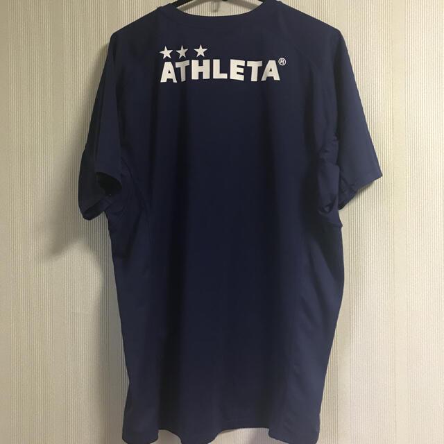 ATHLETA(アスレタ)の《アスレタ》プラクティス半袖シャツ 半袖 サッカー フットサル スポーツ/アウトドアのサッカー/フットサル(ウェア)の商品写真