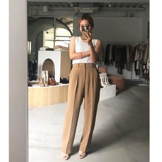 Ameri VINTAGE - 2tucks straight pants