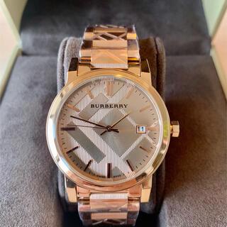 BURBERRY - 【訳有り・格安!】Burberry ローズゴールド 腕時計 BU9039