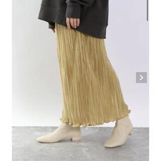 LOWRYS FARM - プリーツメロータイトスカート