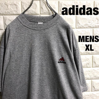 adidas - アディダス パフォーマンス 刺繍ロゴ Tシャツ メンズXLサイズ