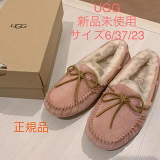 UGG - 新品未使用 美品正規品UGG モカシン ダコタ6.37.23サイズ