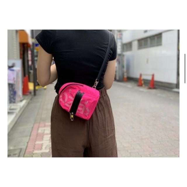 KENZO(ケンゾー)の【再値下げ】KENZO  3WAYロゴミニリュック【タグ・付属品付き新品未使用】 レディースのバッグ(リュック/バックパック)の商品写真