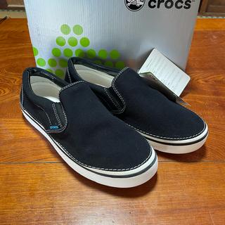 crocs - クロックス スニーカー フーバースリップオン 27cm