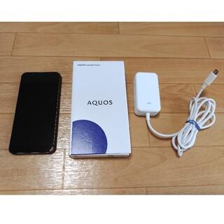 AQUOS - AQUOS sense3 basic ブラック 32 GB au