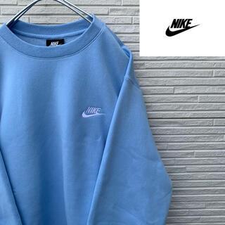 ナイキ(NIKE)の【新品・未使用】Nike 刺繍ロゴ スウェット くすみカラー XL(スウェット)