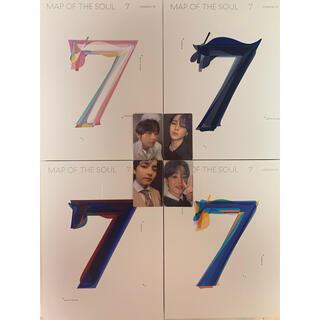 防弾少年団(BTS) - bts  map of the soul 7 4形態 アルバム