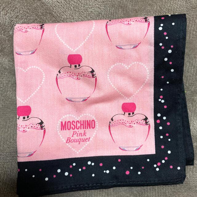 MOSCHINO(モスキーノ)のモスキーノ❤️ハンカチ❤️ レディースのファッション小物(ハンカチ)の商品写真