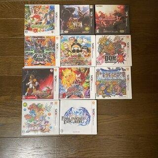 ニンテンドー3DS(ニンテンドー3DS)の3DS11本まとめ売り(家庭用ゲームソフト)