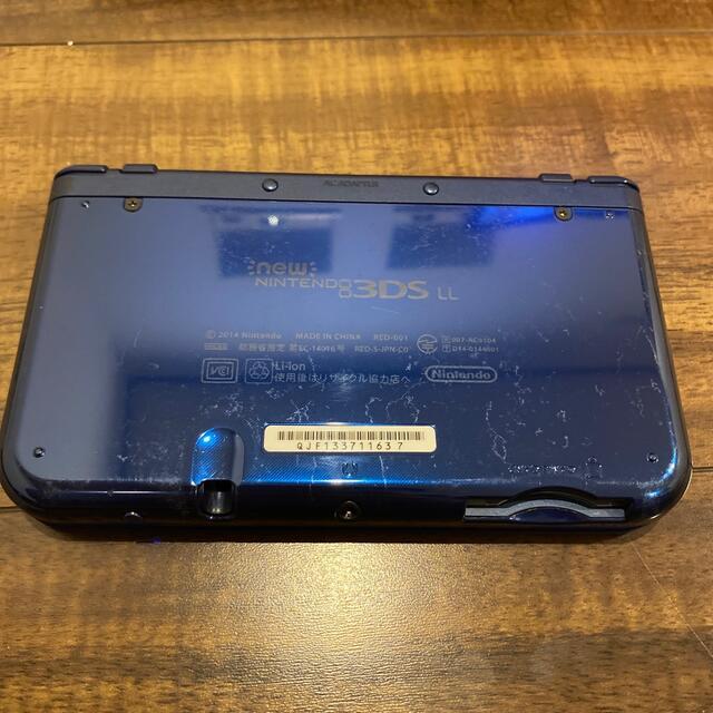 任天堂(ニンテンドウ)のnewニンテンドー3ds ll セット エンタメ/ホビーのゲームソフト/ゲーム機本体(携帯用ゲーム機本体)の商品写真