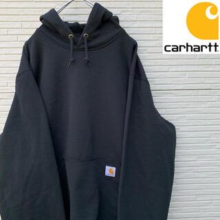 カーハート(carhartt)の【新品】Carhartt パーカー タグ付き ワンポイント 王道プルオーバー(パーカー)