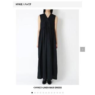 HYKE - HYKE ハイク リネンマキシドレス  タグ付き未使用