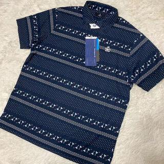 マンシングウェア(Munsingwear)のM 新品定価17600円/マンシングウェア/メンズ/半袖ポロシャツ/ネイビー(ウエア)