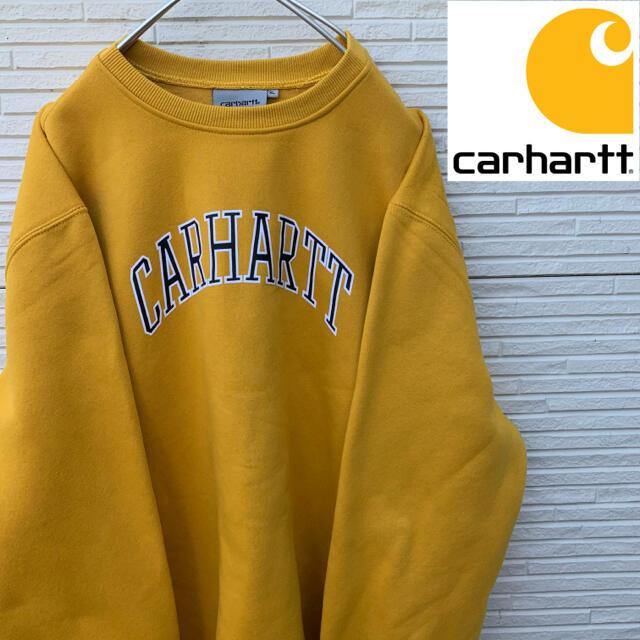 carhartt(カーハート)のCarhartt 新品タグ付き ビッグシルエット デカロゴ XL トレーナー メンズのトップス(スウェット)の商品写真