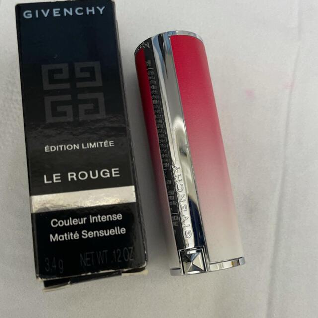 GIVENCHY(ジバンシィ)のGIVENCHY リップ オレンジ×赤 コスメ/美容のベースメイク/化粧品(口紅)の商品写真