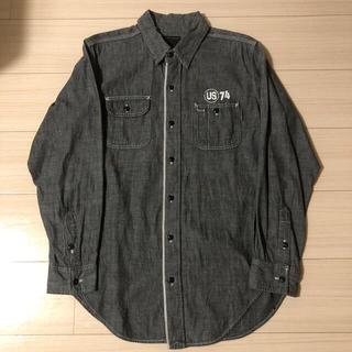 エーエフエフエー(AFFA)の初期00年ネイバーフッドシャンブレーシャツミリタリーUS74wtaps40 %(シャツ)