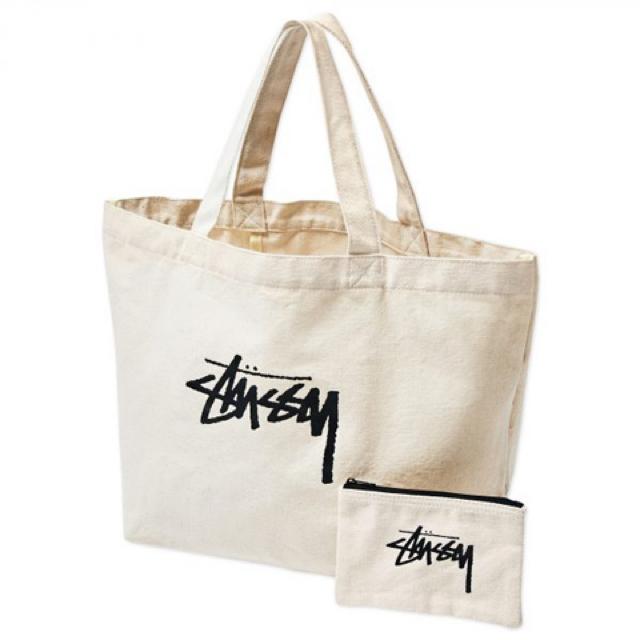 STUSSY(ステューシー)のステューシー トートバッグ&ミニポーチセット メンズのバッグ(トートバッグ)の商品写真