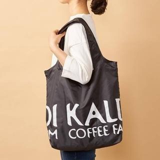 KALDI - KALDI カルディ 折りたたみ エコバッグ 黒 ブラック