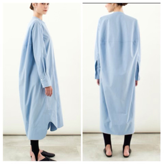 Drawer - YONFA コクーンシャツドレス cocoon shirt dress 美品