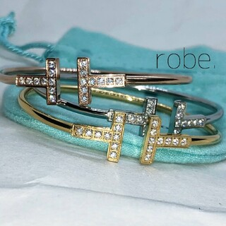 399.T wire cz bracelet【rose】