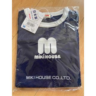 mikihouse - 新品 ミキハウス バックロゴ 半袖Tシャツ 90