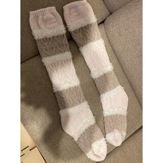 gelato pique - ジェラートピケ 靴下 バレンタイン ロング靴下