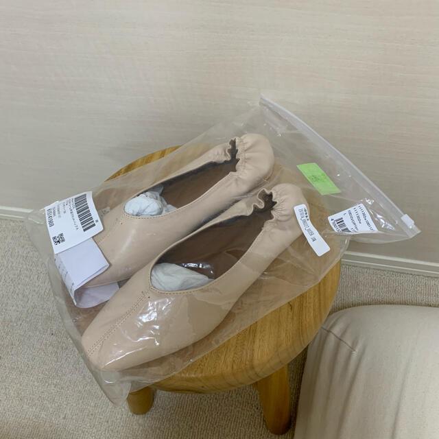 menue フラットシューズ レディースの靴/シューズ(バレエシューズ)の商品写真