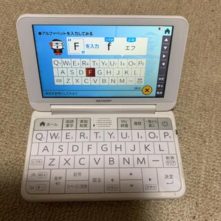 SHARP - SHARP PW-AJ2-W 電子辞書