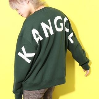 KANGOL - 即日対応 KANGOL スウェットトレーナー ビックロゴ L 裏起毛 即購入歓迎