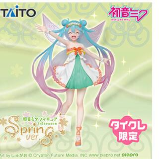 TAITO - 初音ミクフィギュア 3rd season spring ver.タイクレ限定品!