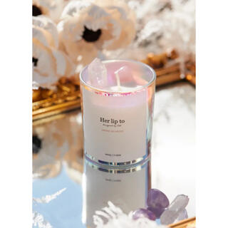 Herlipto  SELF LOVE CRYSTAL CANDLE