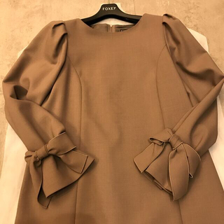 """FOXEY - 新品同様 FOXEY Dress """"Sleeves 38"""