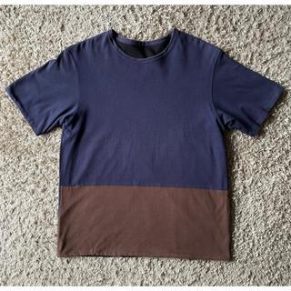 ヤエカ(YAECA)の【みっちょ様専用】nisica ニシカ リバーシブル Tシャツ M(Tシャツ/カットソー(半袖/袖なし))
