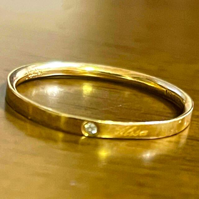 jupiter GOLD LABEL(ジュピターゴールドレーベル)のjupiter  ダイヤモンド K10  リング レディースのアクセサリー(リング(指輪))の商品写真