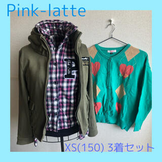 PINK-latte - 古着 Pinklatte ピンクラテ XS(150)  上着3着セット