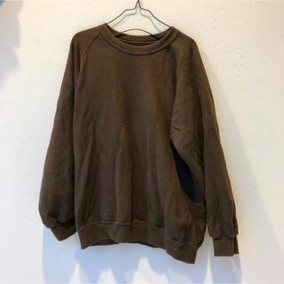 COMOLI - [久米繊維] BASIC SWEAT BROWN