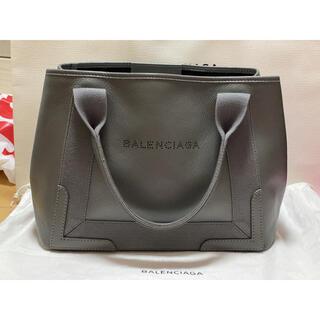 Balenciaga - バレンシアガ ✧ ネイビーカバ S グレー トートバッグ