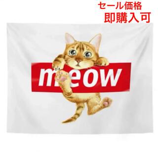 セール価格:北欧インテリア 布ポスター 壁掛け 子猫06(その他)