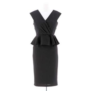 dazzy store - デイジーストア ペプラム 膝丈 ミディアム タイトドレス