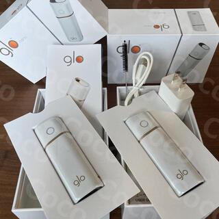 グロー(glo)の<新品> glo nano ホワイト2台セット 箱無し グローナノ 未使用(タバコグッズ)