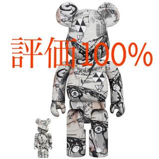 メディコムトイ(MEDICOM TOY)のBE@RBRICK Hiroki Tsukuda 100% & 400% (キャラクターグッズ)