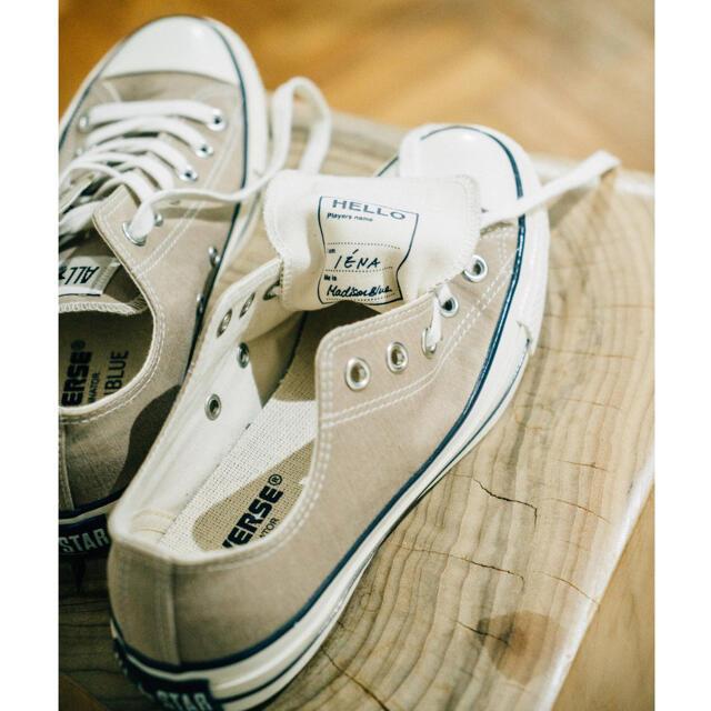 MADISONBLUE(マディソンブルー)の新品【コンバース×マディソンブルー×イエナ】ALLSTAR 23cm レディースの靴/シューズ(スニーカー)の商品写真