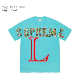 Supreme - Supreme Toy Pile Tee ライトティール Lサイズ