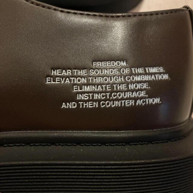 UNDERCOVER(アンダーカバー)の新品 アンダーカバー コラボ シューズ 靴 ジャケット tシャツ スニーカー メンズの靴/シューズ(ドレス/ビジネス)の商品写真