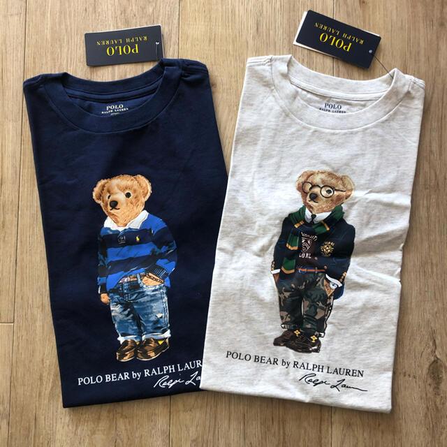 Ralph Lauren(ラルフローレン)の最新 ポロベア  2枚セット ラルフローレン キッズ Tシャツ 170 メンズのトップス(Tシャツ/カットソー(半袖/袖なし))の商品写真
