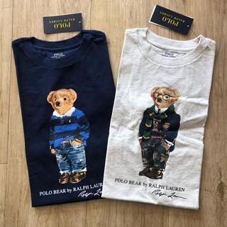 ラルフローレン(Ralph Lauren)の最新 ポロベア  2枚セット ラルフローレン キッズ Tシャツ 170(Tシャツ/カットソー(半袖/袖なし))