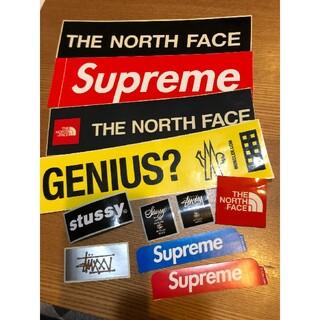 Supreme - SUPREME&north face&STUSSY&MONCLERステッカー