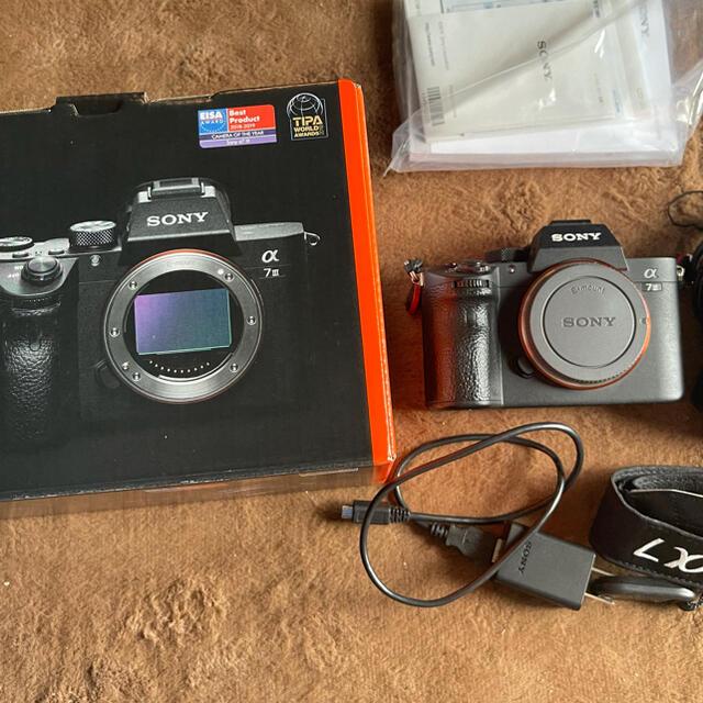 SONY(ソニー)のSony A7iii/ILCE-7M3 スマホ/家電/カメラのカメラ(ミラーレス一眼)の商品写真