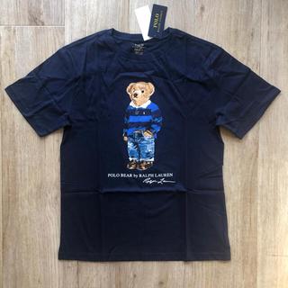 ラルフローレン(Ralph Lauren)の大人OK ラルフローレン ポロベア  Tシャツ 170 ボーイズ ネイビー(Tシャツ(半袖/袖なし))