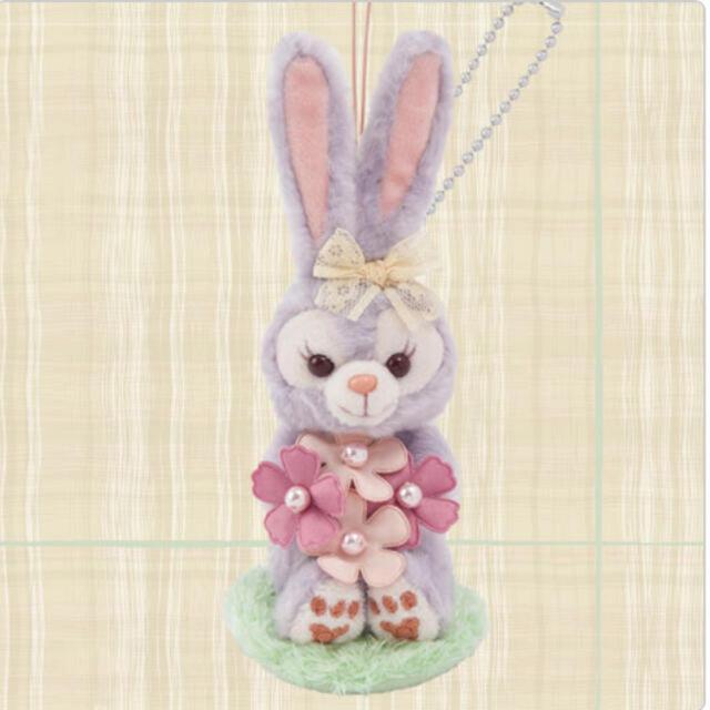 ステラ・ルー(ステラルー)のステラルー ぬいぐるみストラップ スプリングインブルーム エンタメ/ホビーのおもちゃ/ぬいぐるみ(キャラクターグッズ)の商品写真